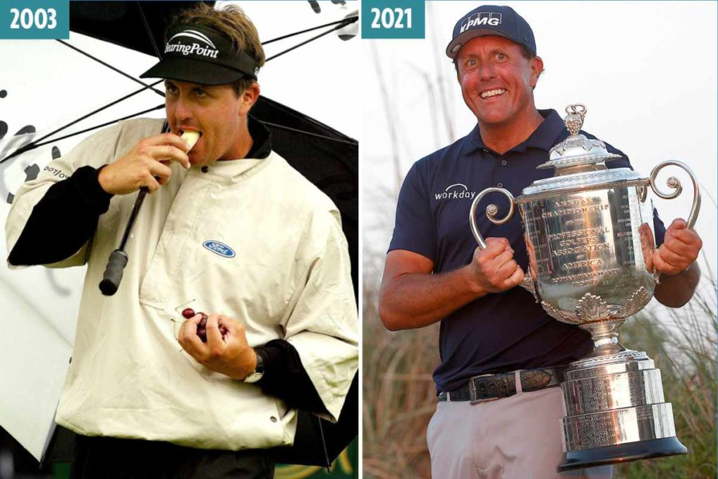 Phil Michelson Weight Loss